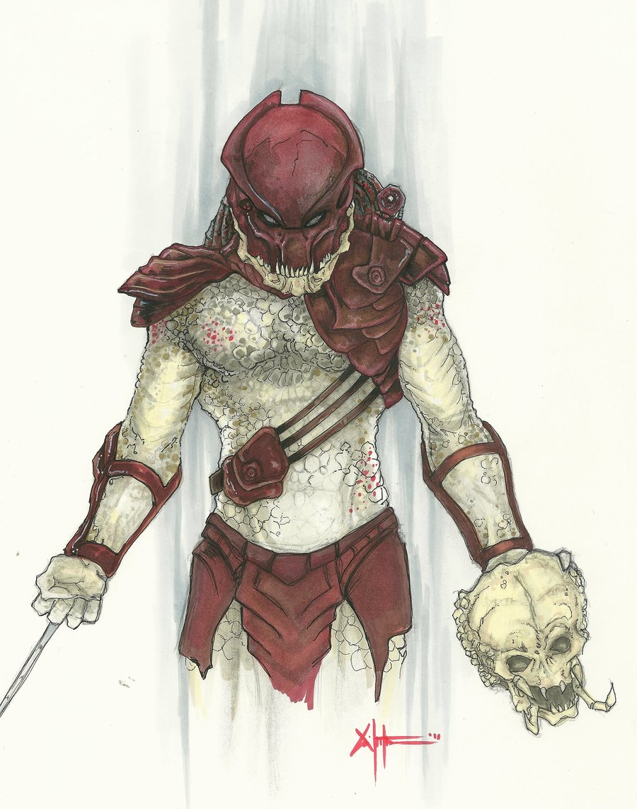 Drawn predator berserker Berserker Predator DeviantArt Berserker ChrisOzFulton