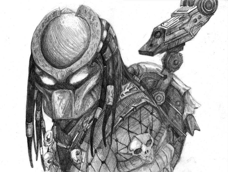 Drawn predator chibi On PREDATOR Pink by Chibi