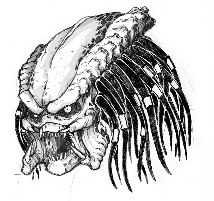 Drawn predator classic Artworks Predator PHOTO The artworks