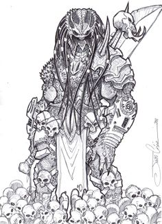 Drawn predator classic Predator vandalocomics The Predator