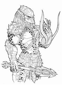 Drawn predator classic Rogue this design: Pinterest hunter