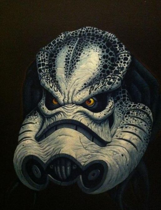 Drawn predator darth maul Cool Cool ArtPredatorStormtrooperDarth GeekTyrant —