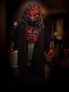 Drawn predator darth maul Deadpool Maul be Vader crossovers