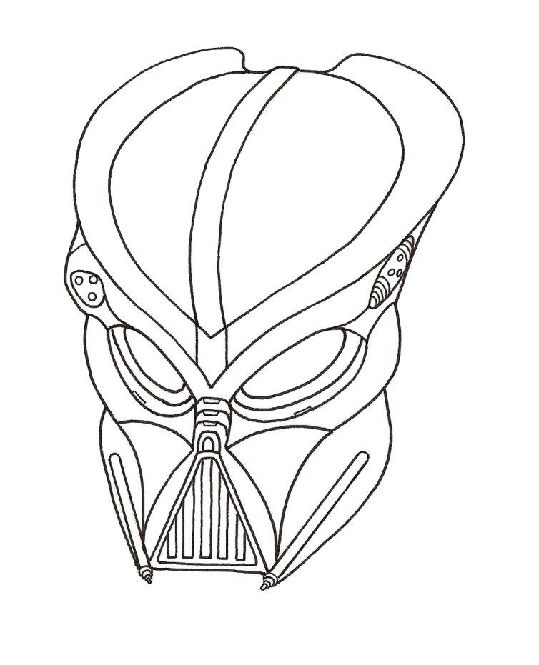 Drawn predator darth vader Vader on by DeviantArt by