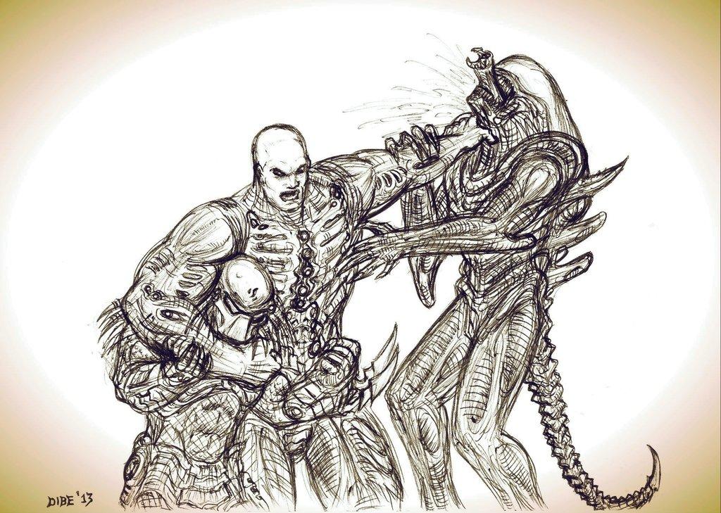 Drawn predator engineer Images on 31 Engineer vs