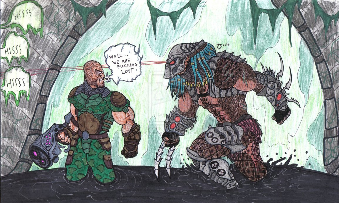 Drawn predator engineer Predator Best  ever pic/pic