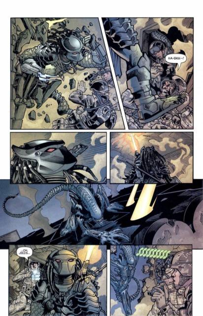 Drawn predator engineer comic Predator elite Battles Vine Comic