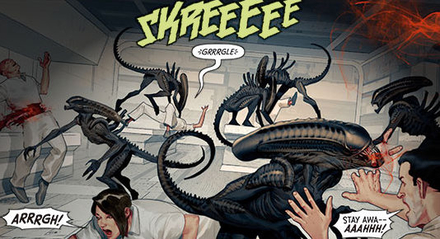 Drawn predator engineer comic Previews More Olivetti