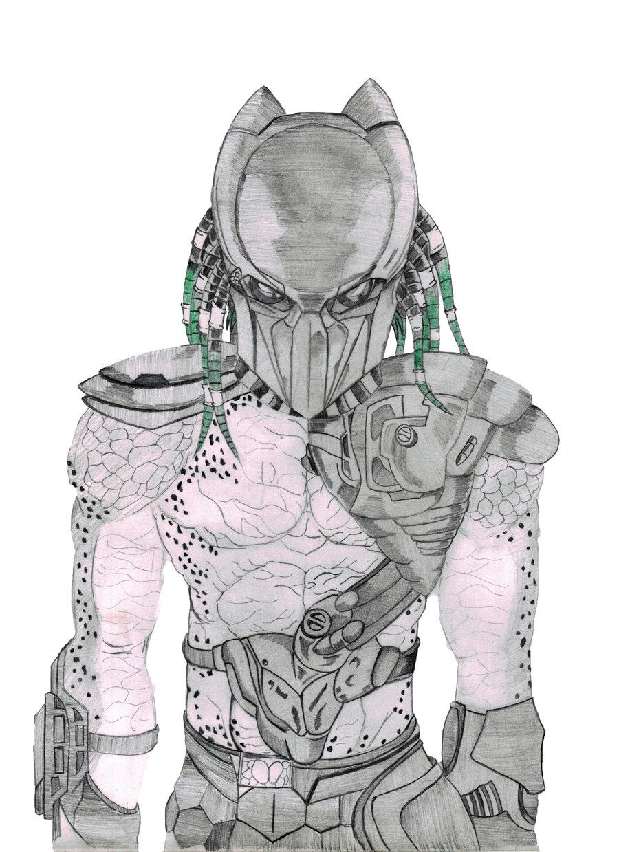 Drawn predator falconer Evil305 by Falconer Predator evil305