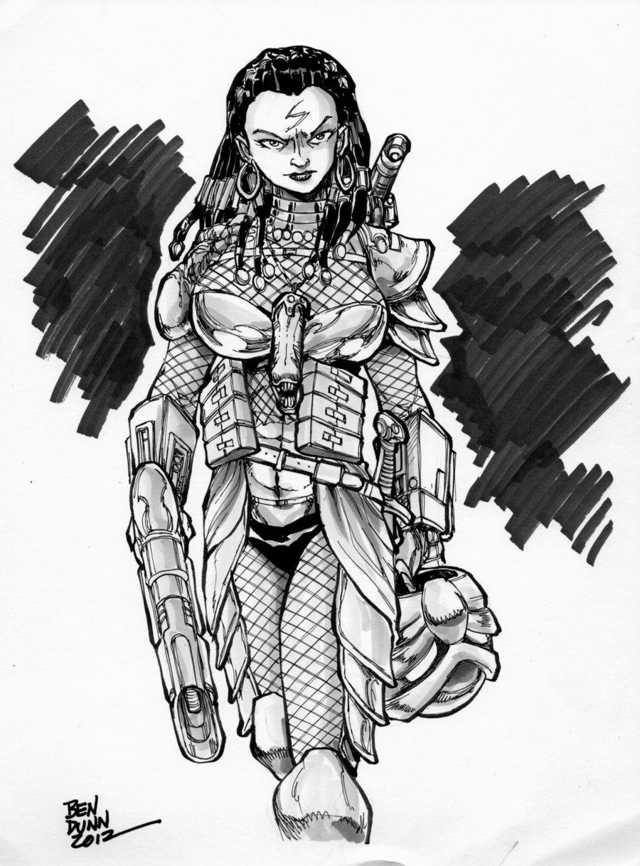 Drawn predator female predator Female @DeviantArt Human com @DeviantArt