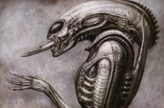 Drawn predator giger Concept Is Terrifying Titan Books