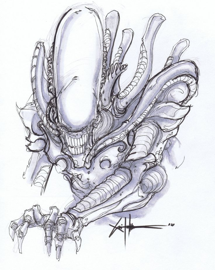 Drawn predator giger Giger on Pinterest more on