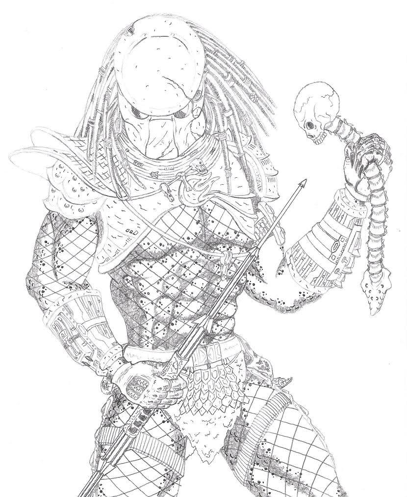 Drawn predator giger The for I drawing did