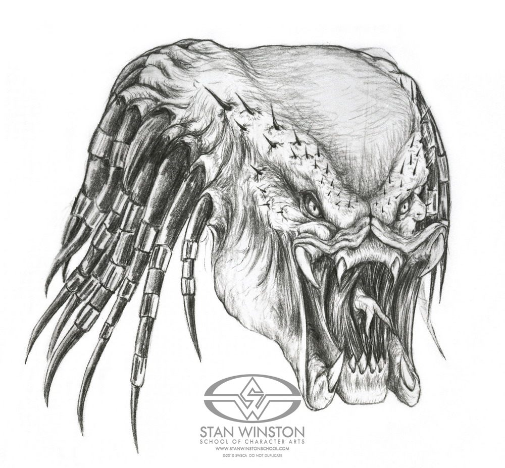 Drawn predator jedi Film Winston Stan By «
