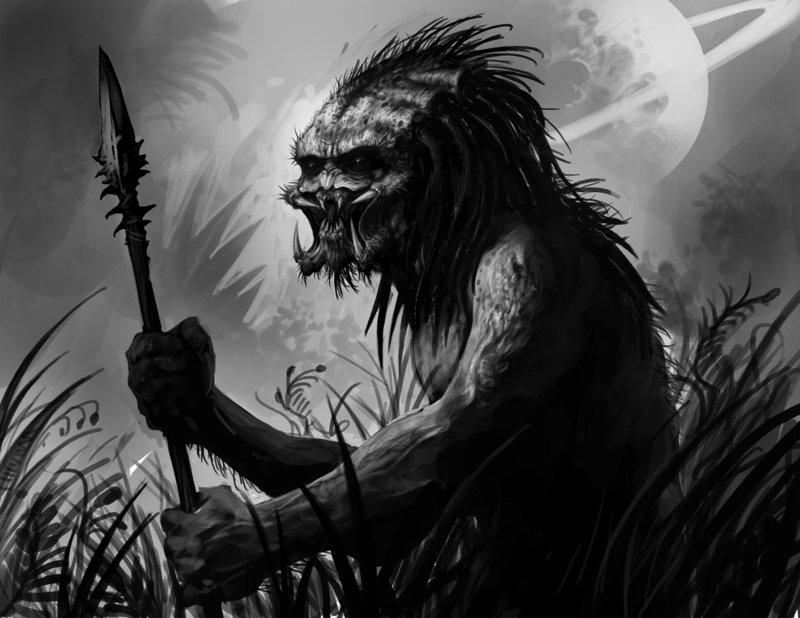 Drawn predator jedi Art Jedi by by Predator