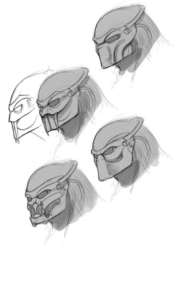 Drawn predator jedi On Art Jedi Alien by