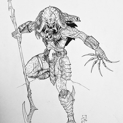 Drawn predator king My #drawn videos and Ward