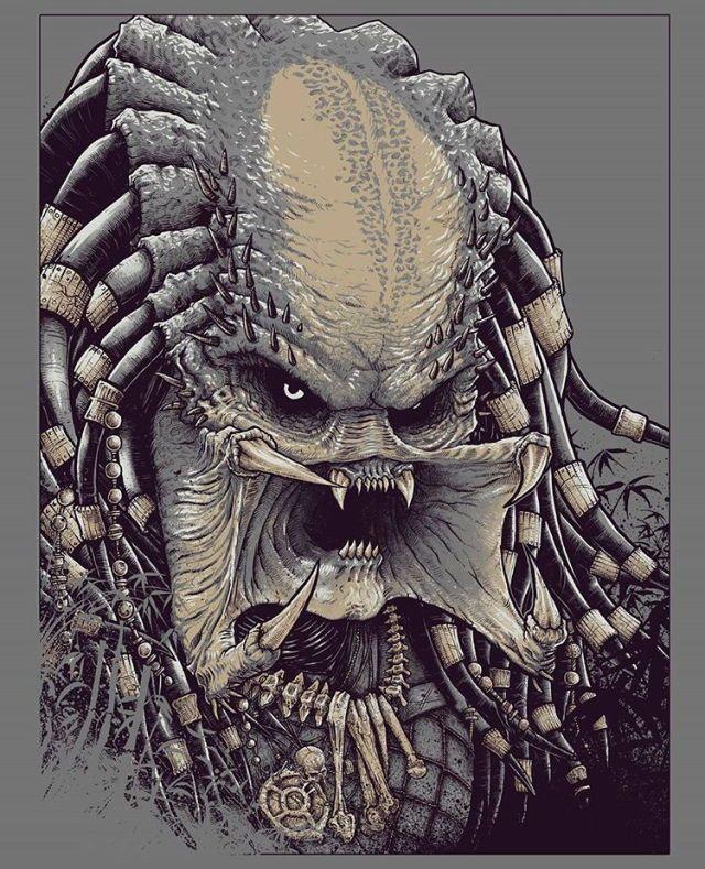 Drawn predator king 281 Concept images Alien Predator
