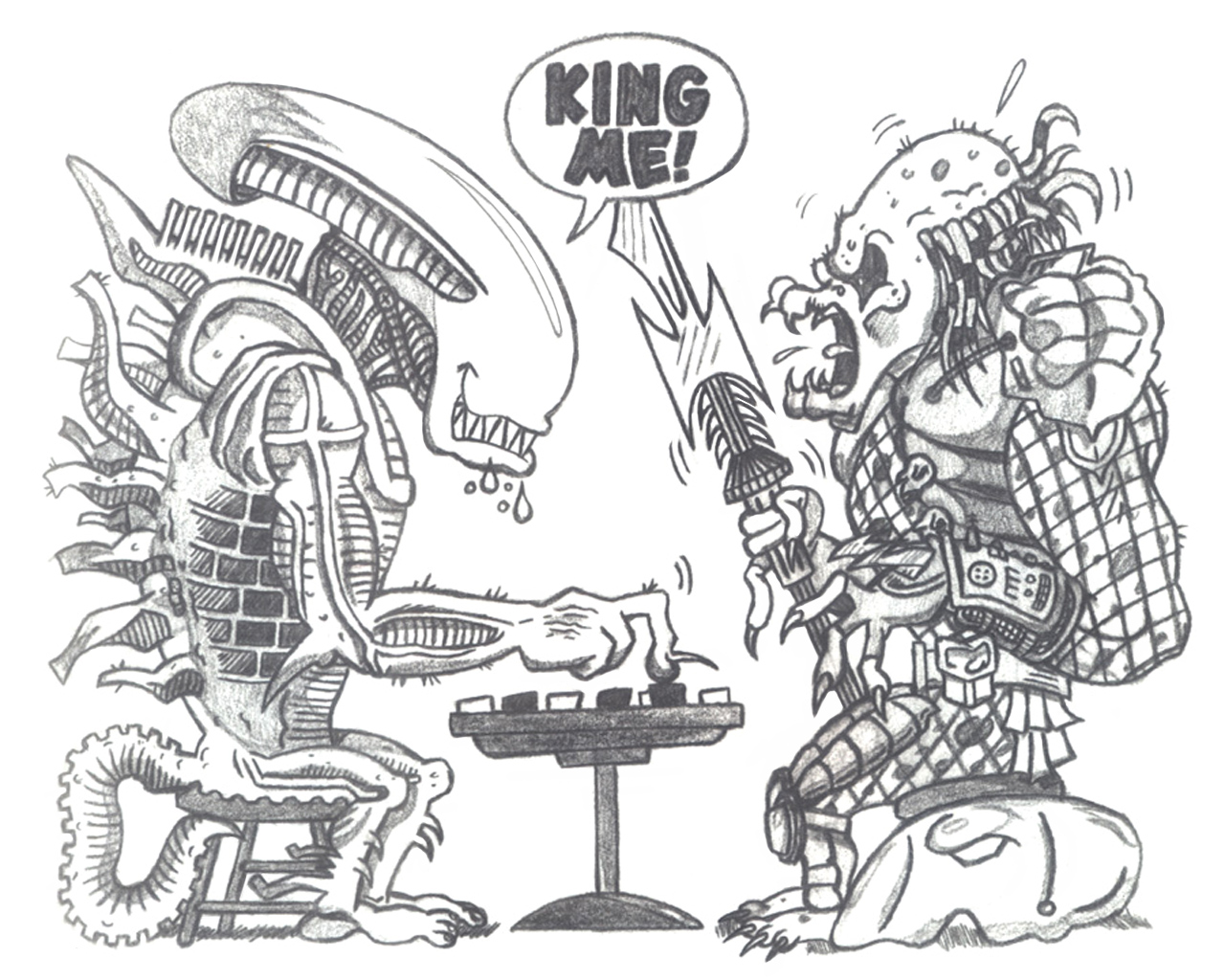 Drawn predator king Daldaemar  DeviantArt by on