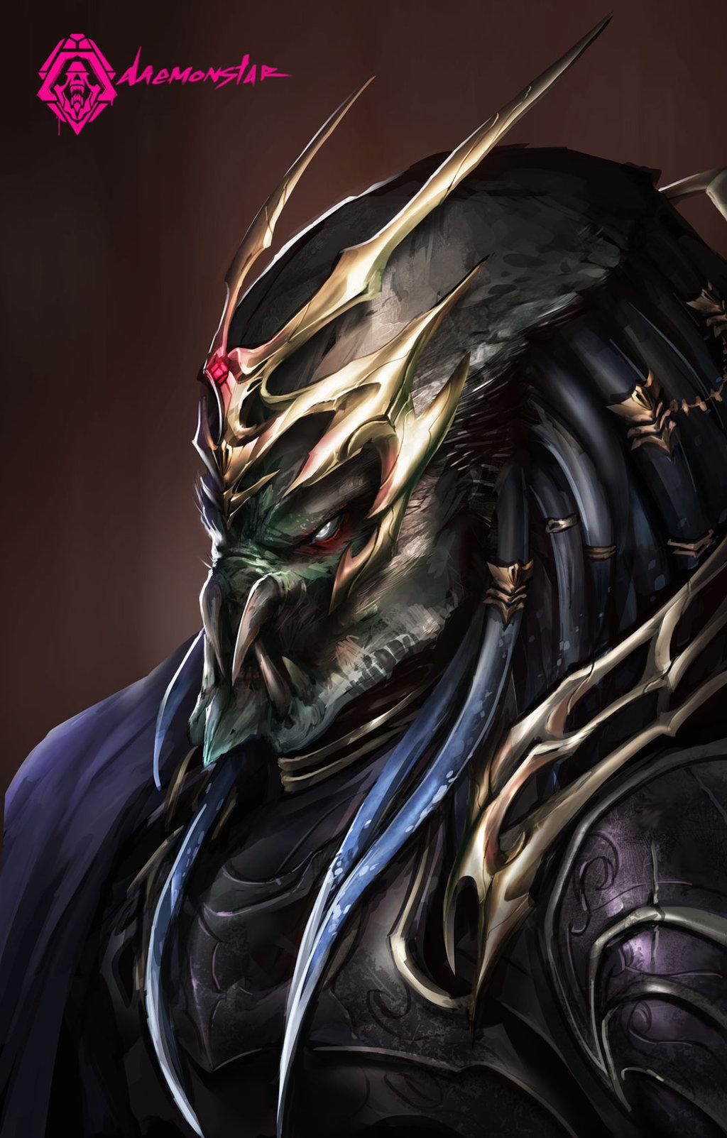 Drawn predator king By PredatorKing daemonstar DeviantArt by
