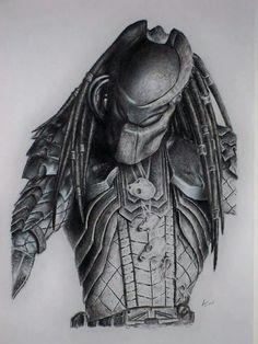 Drawn predator king Diaz Predator Artist by Tacular