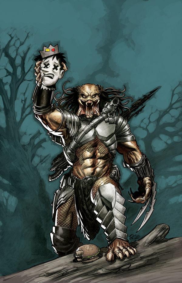 Drawn predator marvel By Predator Vs Fernando cover