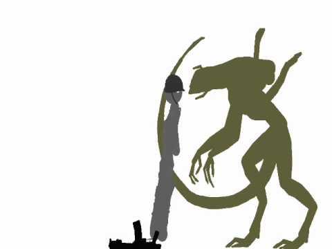 Drawn predator predalien Test test pivot pivot predalien