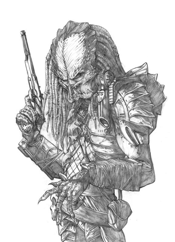 Drawn predator predator 2 Of Predator? Predator  pic/pic