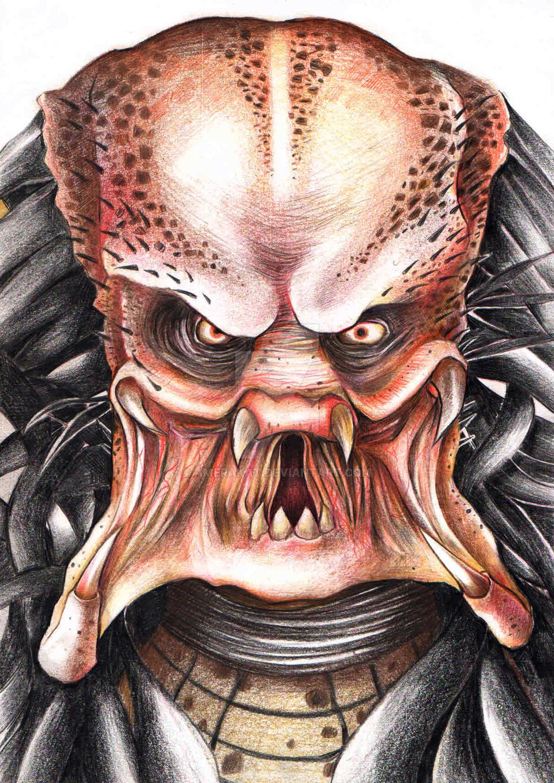 Drawn predator predator 2 Predator DeviantArt 's by Predator