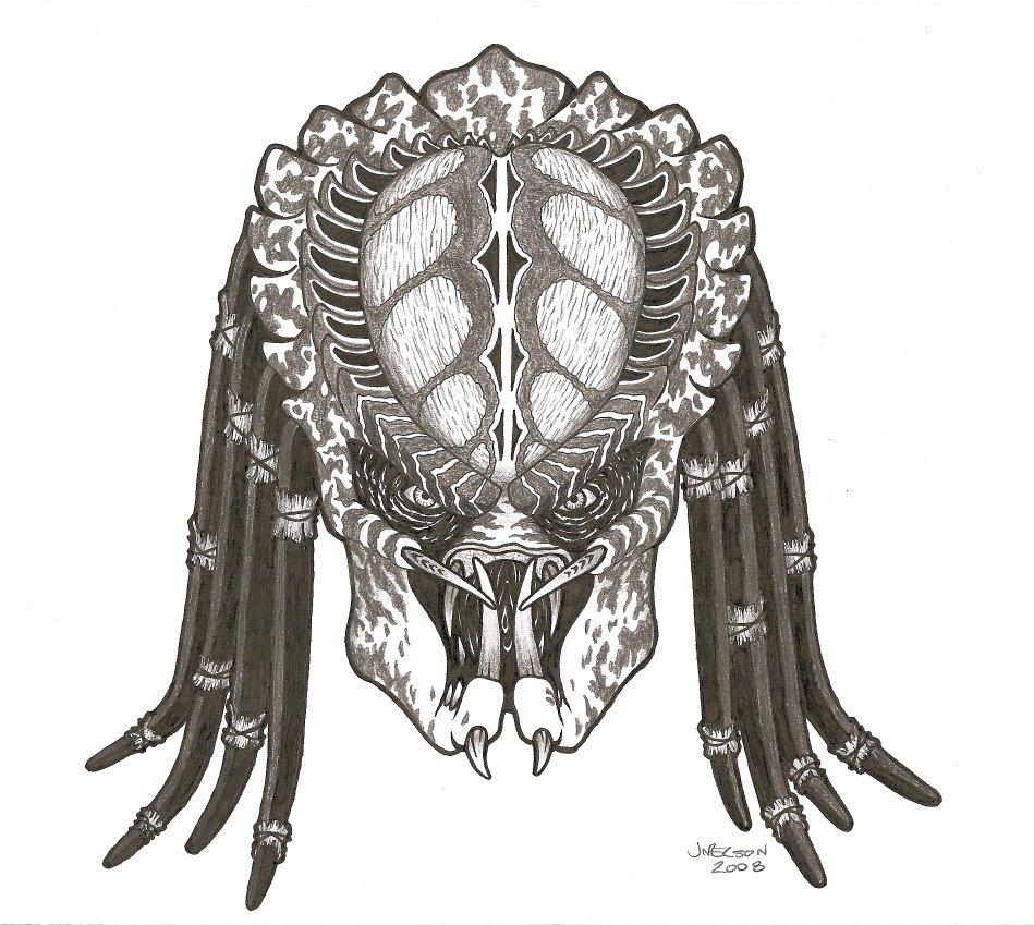 Drawn predator predator 2 Predator 2 by on by
