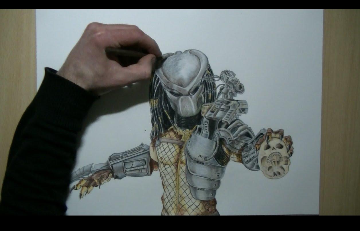 Drawn predator predator 2 Predator Speed YouTube Drawing Drawing