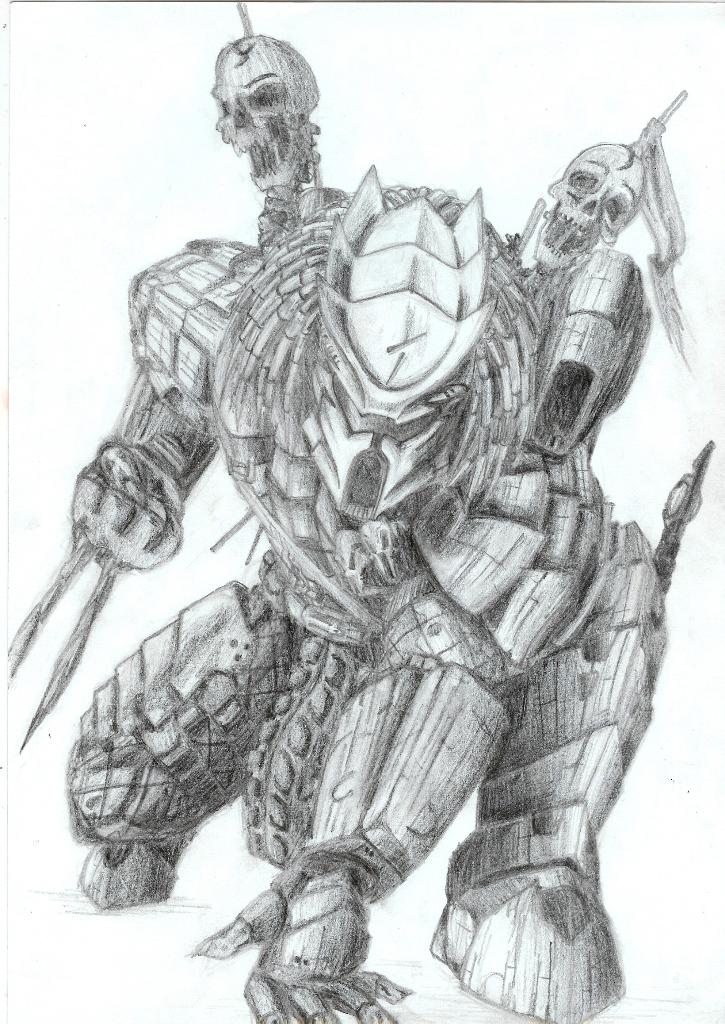 Drawn predator predator 2 2 by on Shraznar Predator