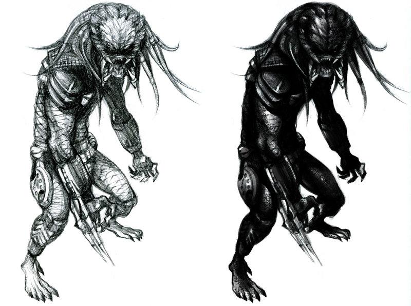Drawn predator predator 2 On DeviantArt best images by