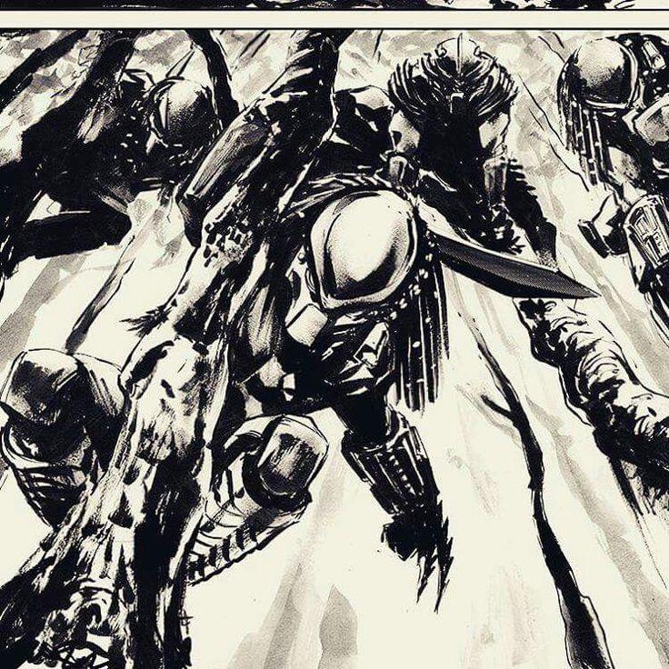 Drawn predator prometheus Pinterest best images Predator Predators