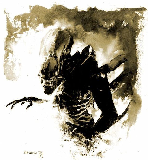 Drawn predator prometheus Prometheus First Rebooted Alien Details