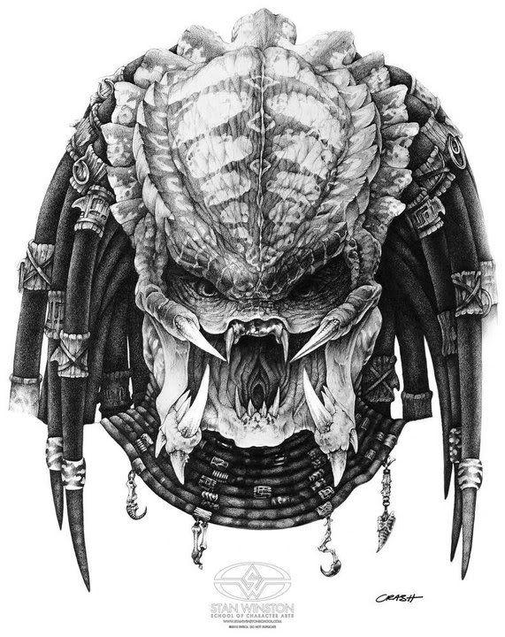 Drawn predator prometheus Images best PROMETHEUS Predator GIGER