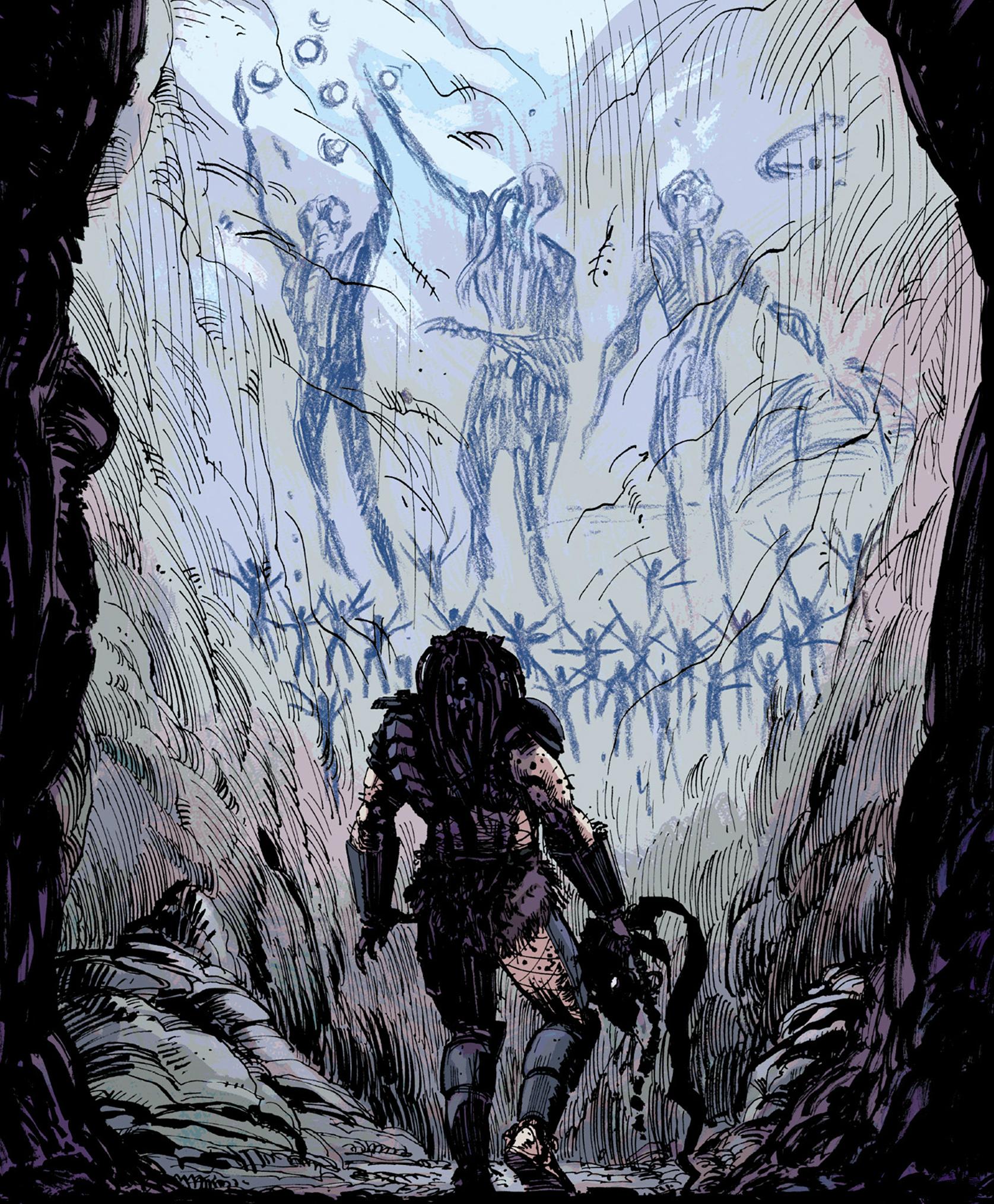 Drawn predator prometheus Wikia Xenopedia powered  FANDOM