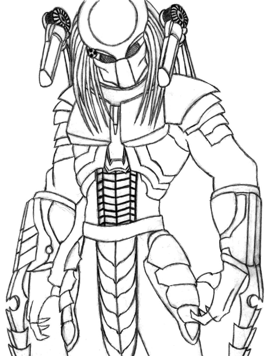 Drawn predator scar By Fanart Predator Predator Central
