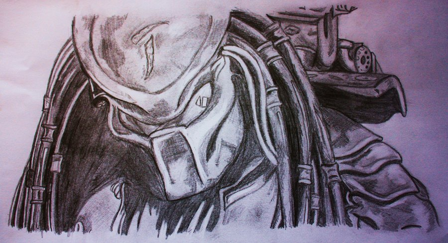 Drawn predator scar Predator: by Scar Predator: princesspomegranate