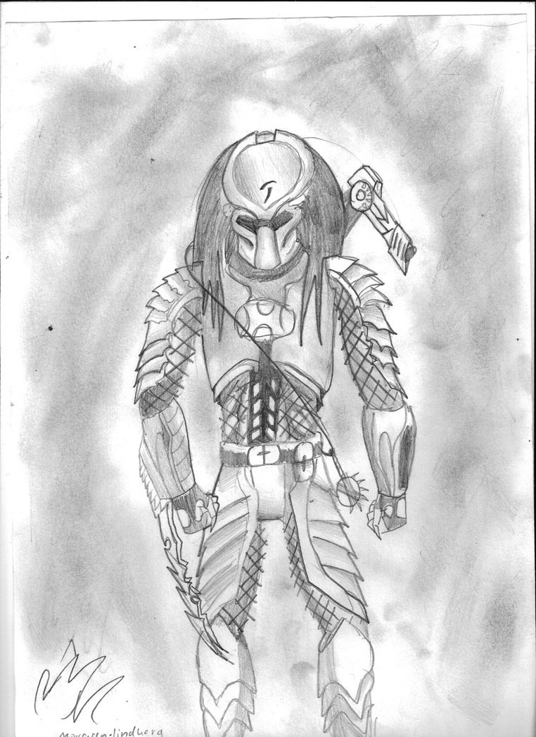 Drawn predator scar Drawings Pictures Avp Scar Car