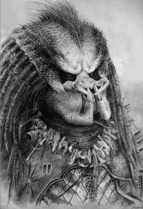 Drawn predator sci fi PredatorSci 102 Fi Predator images