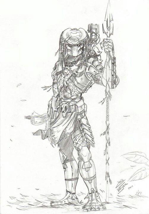 Drawn predator shadow dragon Pinterest and images this Predator