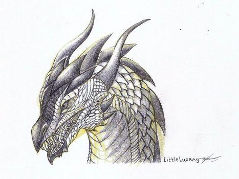 Drawn predator shadow dragon DeviantArt Shadow dragonshadow 140 by