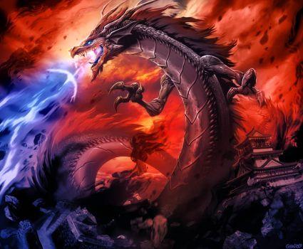 Drawn predator shadow dragon On 145 Explore 4 Dragon