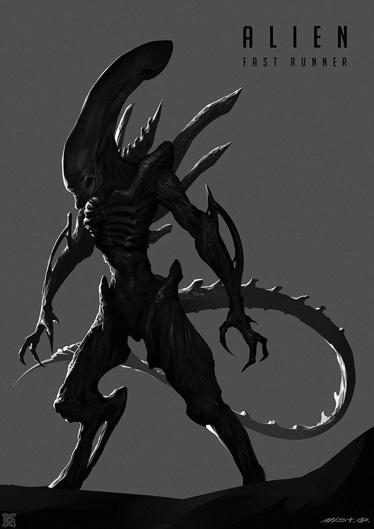 Drawn predator shadow dragon Images Pinterest mist best Alien——Fast