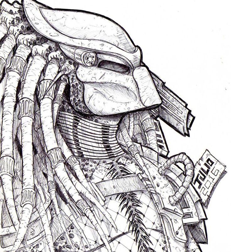 Drawn predator shadow dragon On vandalocomics Predator CLASSIC on