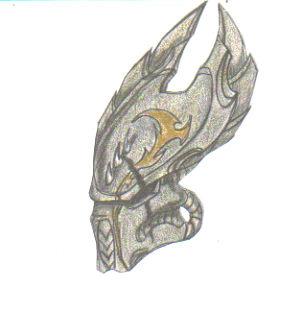 Drawn predator sith Helmet helmet ancient by predator