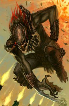 Drawn predator sith Vs imthenic: Predator Sith Berserker