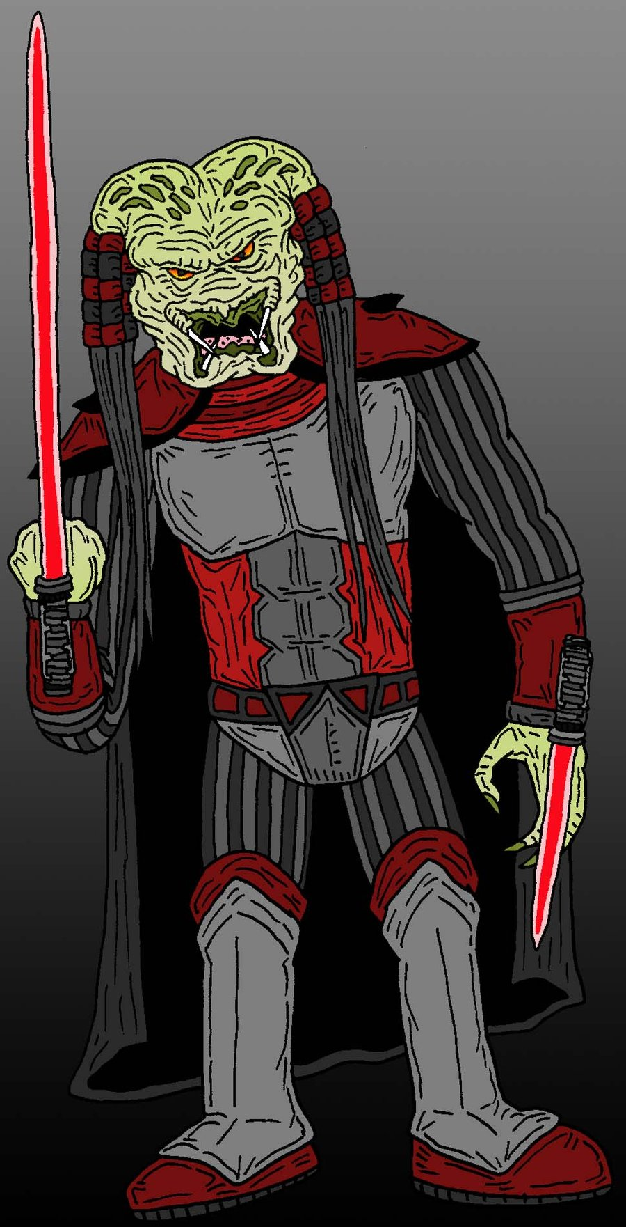 Drawn predator sith Sith by Predator Sith Sith