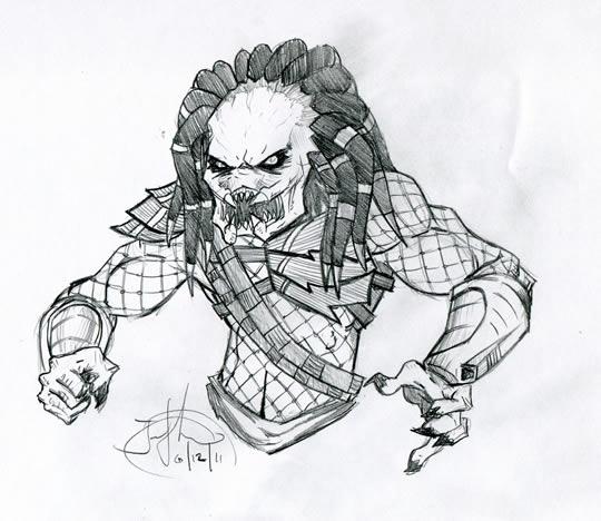 Drawn predator sith Were surprised Predators – acting